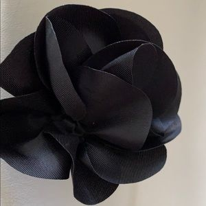 Other - Black floral headband